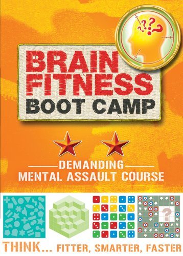 Brain Fitness Boot Camp: Demanding Mental Assault Course Assault Boot