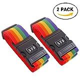 Caratteristiche:   Misura valigia 20 - 32 pollici  Cinture regolabili in valigia  Disegno arcobaleno colorato  Blocco combinazione a 3 cifre  La cinghia di sicurezza della cintura di combinazione viene utilizzata per il raggruppamento e il b...