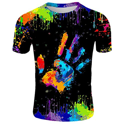 Herren T-Shirt Kurzarm Shirt Mit Rundhalsausschnitt und Inka-Print Herren Sport T Shirt Fitness Funktion Training Running Tennis Sportshirt Männer Funktionsshirt Kurzarm Trainingsshirt Laufshirt
