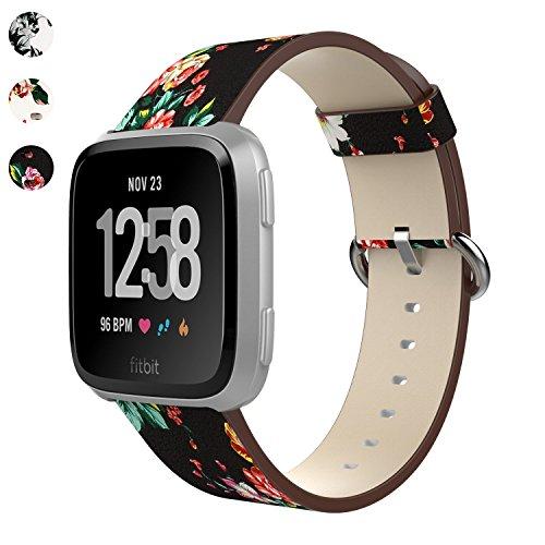 MBrisk Fitbit Versa Band Klein Große, weiche Ersatz-Armband Silikon Sport atmungsaktiv Gurt für Fitbit Versa Smartwatch