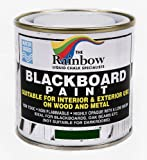 Green Chalkboard Paint - 250ml Ideal to use with Liquid Chalk and Dry Chalk Sticks