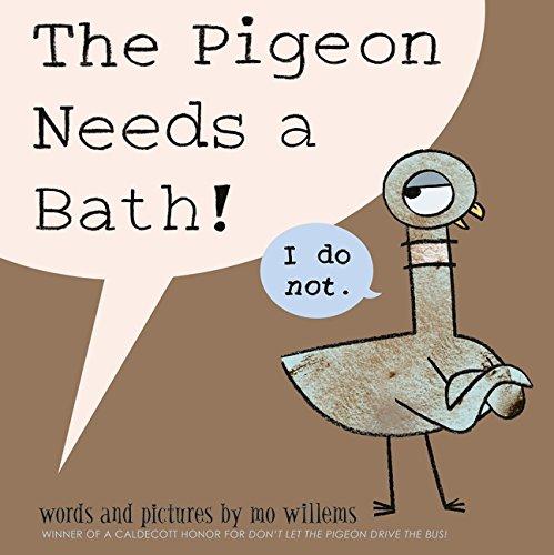 The Pigeon Needs a Bath Mo Tie