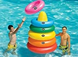Swim Central Anillo Gigante Hinchable de 5 'para Deportes acuáticos Toss Target para Piscina, Juego
