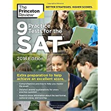 9 Practice Tests for the SAT (College Test Preparation)