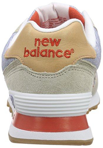 New Balance ML574, Baskets Basses Homme Gris (Grey/Blue)