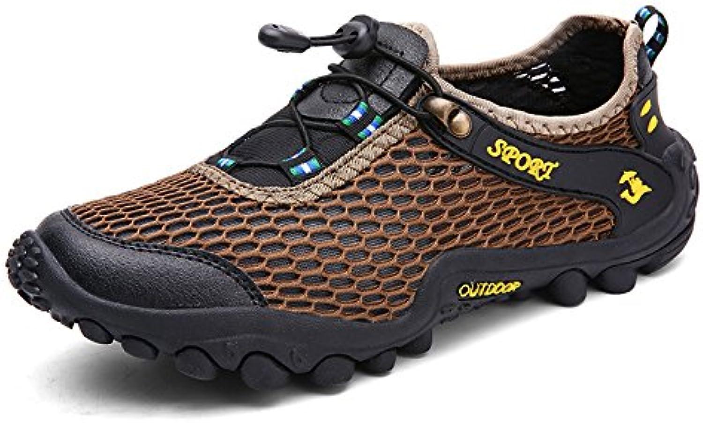 Zapatillas Deportivas De Malla para Hombre con Cordones Zapatos Deportivos Ligeros Zapatillas De Escalada Zapatillas  -
