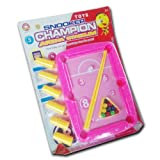 Shopperz Snooker Pool Table Toy