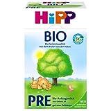 Hipp Bio Pre Anfangsmilch - von Geburt an, 8er Pack (8 x 600g)