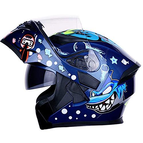 Erwachsenen Motorrad Lokomotive Helm Geschenk Handschuhe Brille Maske,S CAJUXI M/änner und Frauen Vier Jahreszeiten universal Full Face Motocross Helm