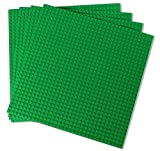 Creative Builders | 4 Pack Sets Of X Large Green Building Brick Baseplates (Giant 10