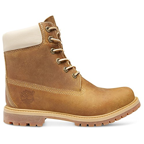 Timberland Earthkeepers® 6-InchPremium With Internal Wedge donna, pelle liscia, stivaletti Golden Beige