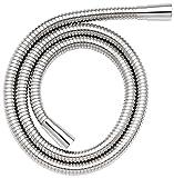 Croydex Essentials Brauseschlauch aus Edelstahl, verstärkt, 1,75 m