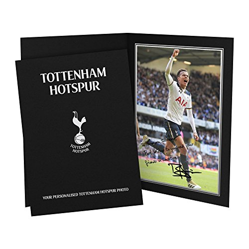 Official-Personalised-Tottenham-Alli-Signed-Photo-Presentation-Folder-FREE-PERSONALISATION