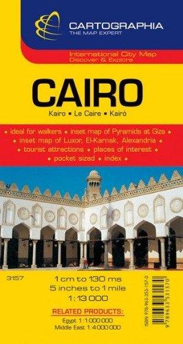 Plan Cartographia Le Caire