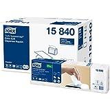 Tork 15840 Serviettes en papier enchevêtrées Premium Xpressnap N4 - Extra Doux - lot de 8 paquets - Blanc