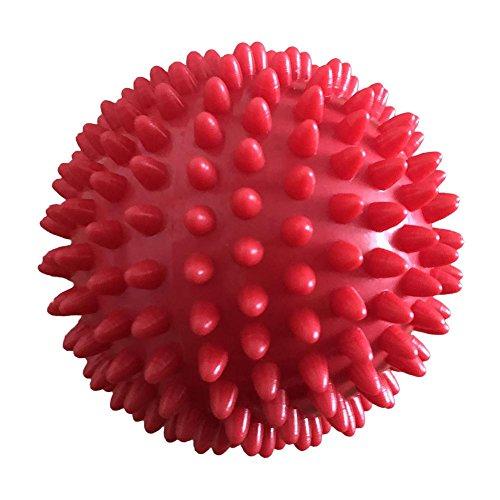 luminiu Massage Ball,Pelota de Masaje Bola Masajeador de Pies con Pinchos Cammate con Spike para Mejorar la Reflexología y Movilidad Rodillo para Trigger Point Liberación Miofascial y Fascitis