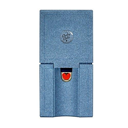 Cooling Cubes POINT BREAK - Beachparty Kühlbox für 5 Liter Partyfass / Partyfässchen Bierfasskühler (jeans-blau)