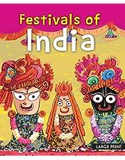 Large Print: Festivals of india: Large Print