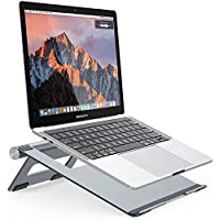 Nulaxy Support d'ordinateur Portable, Support de Refroidissement de Bureau Réglable en Aluminium pour Les Macbook Pro…