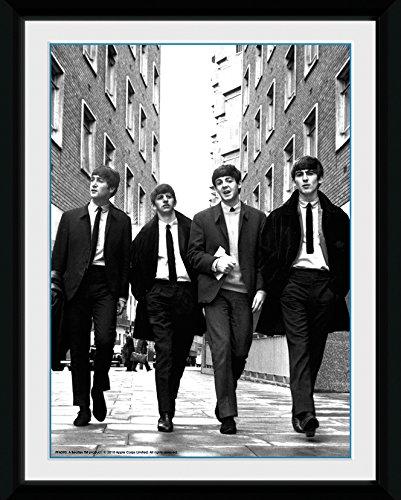GB Eye Gerahmtes Foto The Beatles in London, 20x15cm (London Eye-bild)