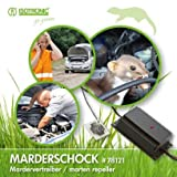 ISOTRONIC Dissuasore Scaccia Repellente a ultrasuoni e luminoso contro martore topi ghatti e ghiri per auto