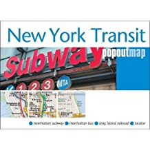 New York Transit Popout Map (PopOut Maps)