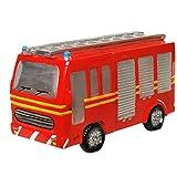 tolle Spardose Modell Feuerwehr,Feuerwehrauto mit Gummiverschuss