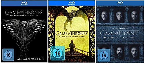 Blu-ray Set * Game of Thrones - Season / Staffel 4+5+6
