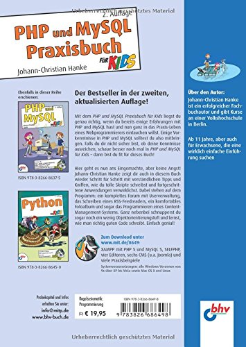 PHP und MySQL Praxisbuch für Kids: 2. Auflage (mitp für Kids) - Bild 2