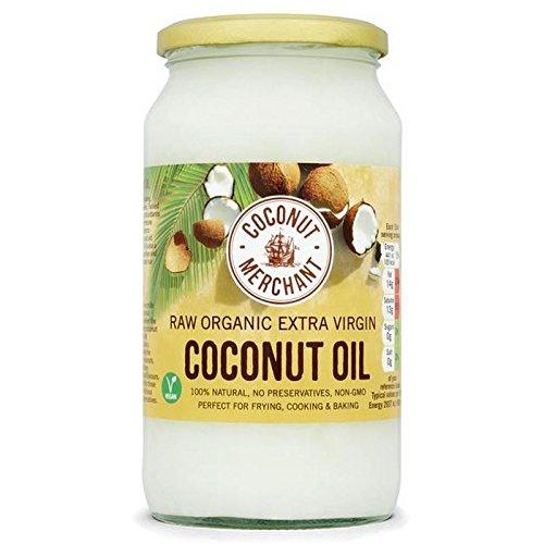 Comerciante De Coco Extra Ecológico 1L De Aceite Virgen De Coco Crudo