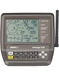 Davis Vantage - GPS marino, color negro
