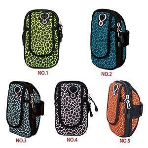 Lidahaotin Courir Sac à Vélo Bras Poignet Sport Main Téléphone Portable Valise de Rangement Porte d'accessoires Pochette étanche pour YIPINU