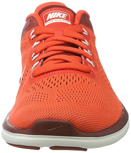 Nike Flex 2016 Rn, chaussures de course homme Orange (Max Orange/summit White/dk Cayenne/summit White)