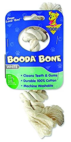 Aspen/Booda Corporation DBX50760 2-Knot Rope Bone Dog Chew Toy, X-Small