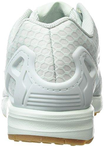 Adidas Zx Flux - Sneakers Basses - Mixte Adulte Turquoise (Vapour Green/Vapour Green/Gum)