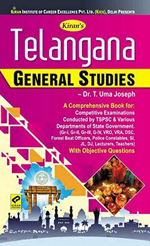 Kiran\'s Telangana General Studies Book - 2185