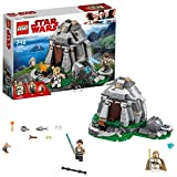 LEGO 75200 Star Wars Episode VIII Ahch-To Island Training Building Set, Luke and Rey Mini Figures