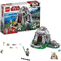 LEGO Star Wars - Entraînement sur l'île d'Ahch-To - 75200 - Jeu de Construction
