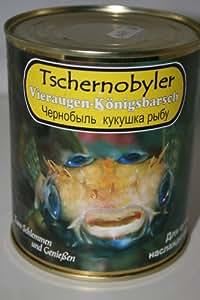 Tschernobyler Vieraugen-Königsbarsch in der Dose (Scherzartikel)