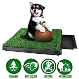 Sailnovo Toilette per Cani Animali Domestici Interno Tappeto Erboso Potty Dog Pad di Addestramento Dell'erba per Animali Domestici