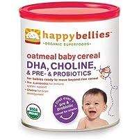 Happy Baby Happy Bellies Cereal - Organic Oatmeal - 7 oz - Case of 6 - 95%+ Organic - by HAPPY BABY preisvergleich bei billige-tabletten.eu