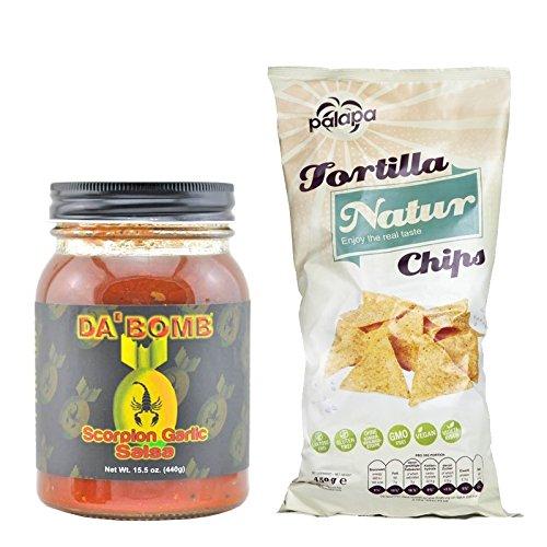 Da Bomb - Scorpion Garlic Salsa - Geschenk Set
