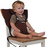 Uni Beste Baby Tragbare Hochstuhl Reise Sitze Abdeckung Kleinkind Sicherheit Hochstuhl Infant Sack Gürtel Fütterung Booster Sitzgurt (braun)