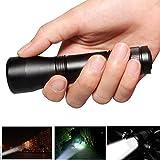 LanLan Taschenlampe für Camping Jagd Wandern Outdoor Mini Zoom Teleskop Fokussierung