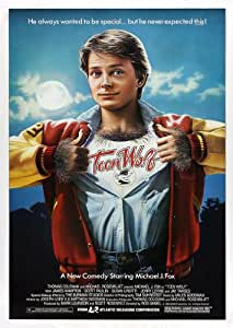 Michael J Fox Teen Wolf Movie Film A3 Poster / Print / Picture 280GSM Satin Photo Paper