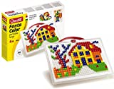 Quercetti 0954 - Mosaik-Steckspiel Fanta Color Portable Small