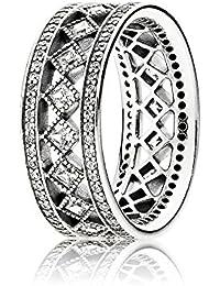 Pandora Mujer plata de ley 925 plata blanco circonita
