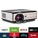 LCD Beamer Android System WIFI HD 3500 Lumen LED Heimkino 1080p Video...