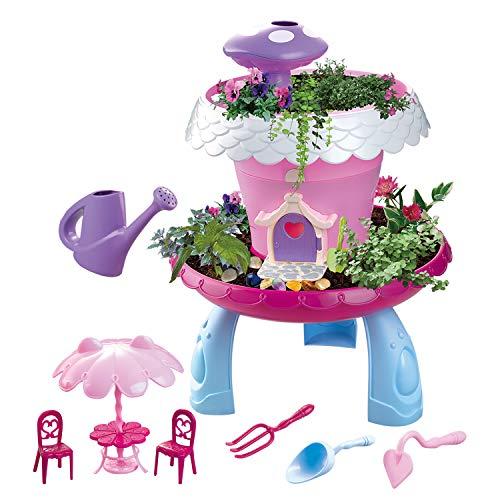 (maxxrace Garten Spielzeug, Gartengeräte für Kinder ab 6, Kinder Lernen im Garten zu Pflanzen, Indoor und Outdoor Pflanzen Spielzeug,Mädchen und Junge Gartenspiele, Steam Spielzeug)
