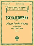 Pyotr Ilyich Tschaikovsky: Album For The Young (24 Easy Pieces) Op. 39